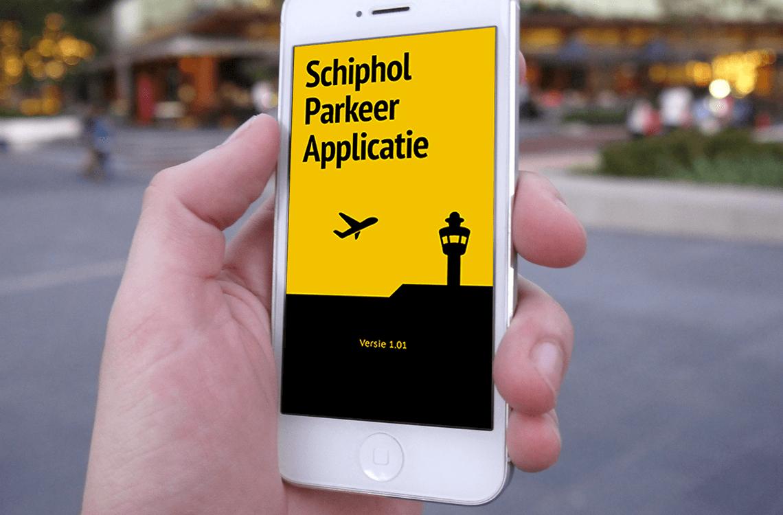 Schiphol valet app
