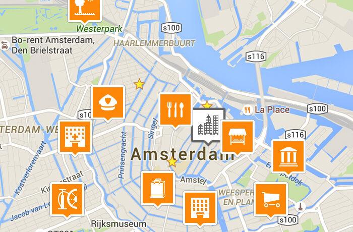 Icon set for app navigation