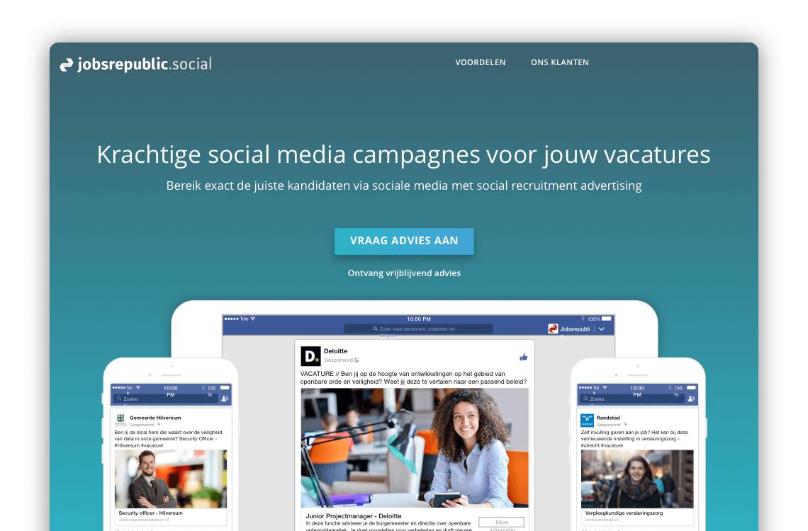 Jobrespublic.social Landing page